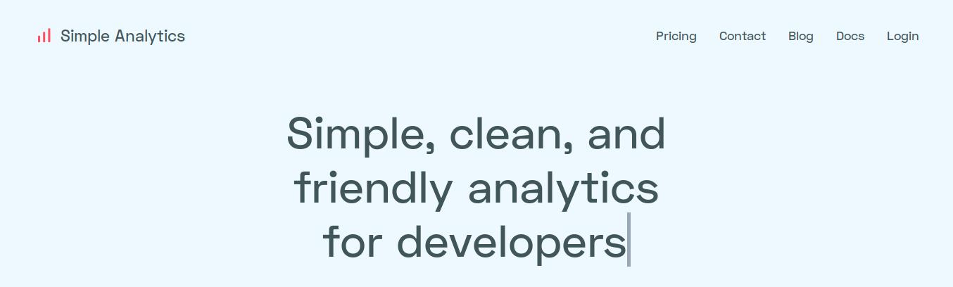 SimpleAnalytics: una alternativa a Google Analytics